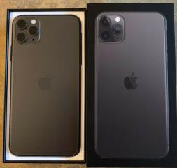 Apple iPhone 11 Pro 64GB = €400,iPhone 11 Pro Max